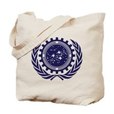 United Federation of Planets 2013 Dark Logo Tote B