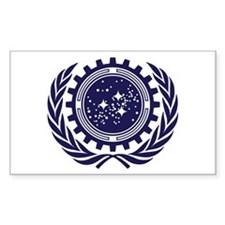 United Federation of Planets 2013 Dark Logo Sticke