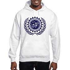United Federation of Planets 2013 Dark Logo Hoodie