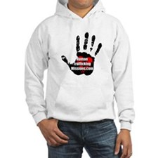 Human Trafficking Missions Small Logo Hoodie