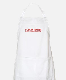 I-grow-people-opt-red Apron