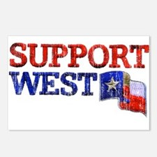 Support West Postcards (Package of 8)