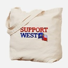 Support West Tote Bag
