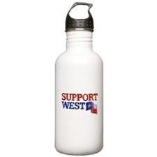 Support West Water Bottle
