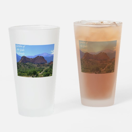 Garden of the Gods #6 Drinking Glass