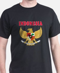 Indonesia Coat Of Arms Designs T-Shirt