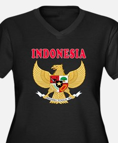 Indonesia Coat Of Arms Designs Women's Plus Size V