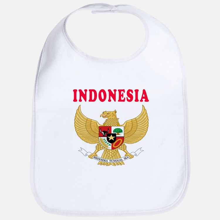 Indonesia Coat Of Arms Designs Bib