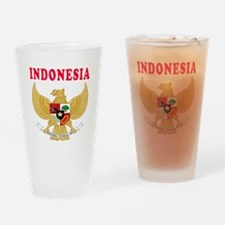 Indonesia Coat Of Arms Designs Drinking Glass
