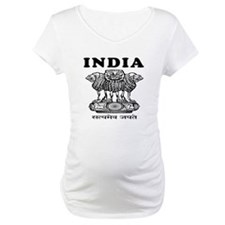 India Coat Of Arms Designs Shirt