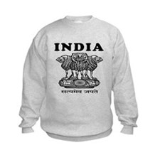 India Coat Of Arms Designs Sweatshirt