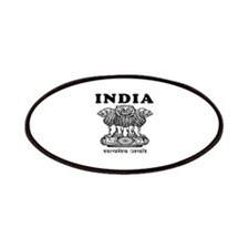 India Coat Of Arms Designs Patches