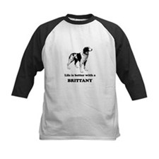 Life Is Better With A Brittany Baseball Jersey
