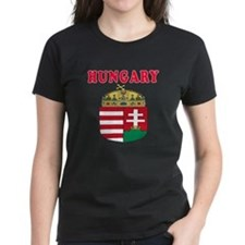 Hungary Coat Of Arms Designs Tee