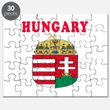 Hungary Coat Of Arms Designs Puzzle
