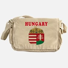 Hungary Coat Of Arms Designs Messenger Bag