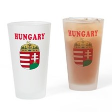 Hungary Coat Of Arms Designs Drinking Glass
