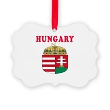 Hungary Coat Of Arms Designs Ornament