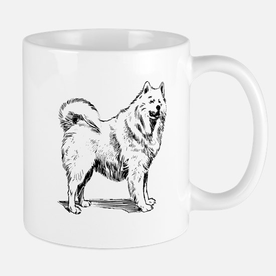 Samoyed Sketch Small Mug