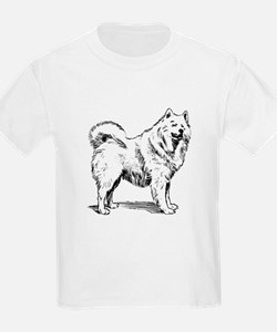 Samoyed Sketch T-Shirt