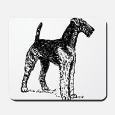 Airedale Sketch Mousepad