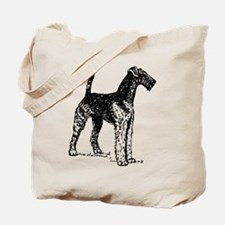 Airedale Sketch Tote Bag