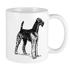 Airedale Sketch Small Mug
