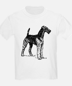 Airedale Sketch T-Shirt