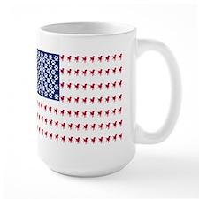 USA Dog Flag Mug
