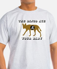 The Dingo Ate Your Baby Ash Grey T-Shirt