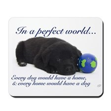 In A Perfect World (Lab) Mousepad