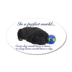 In A Perfect World (Lab) Wall Decal