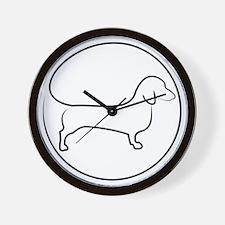 Circle Dox Wall Clock