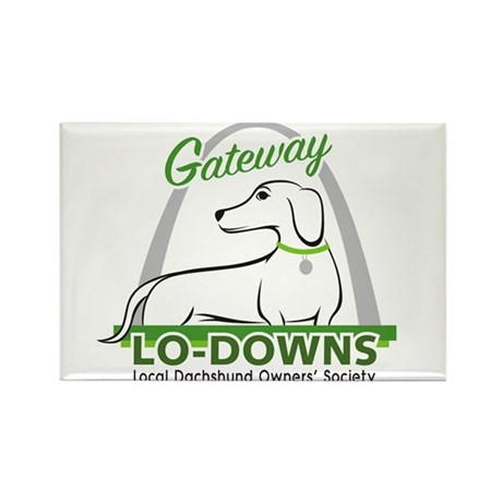 Gateway Lo-Downs Rectangle Magnet (10 pack)