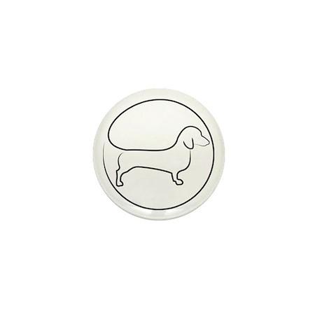 Circle Dox Mini Button
