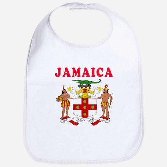 Jamaica Coat Of Arms Designs Bib