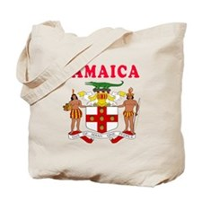 Jamaica Coat Of Arms Designs Tote Bag