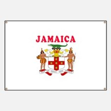 Jamaica Coat Of Arms Designs Banner