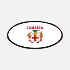 Jamaica Coat Of Arms Designs Patches