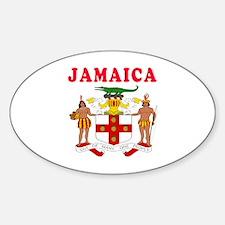 Jamaica Coat Of Arms Designs Decal