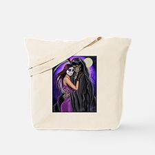 Grim Reaper Lovers Embrace Tote Bag