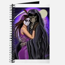 Grim Reaper Lovers Embrace Journal
