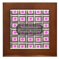 Occupational Therapy Framed Tile