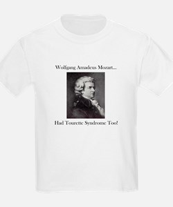Mozart Tourette Syndrome Kids T-Shirt