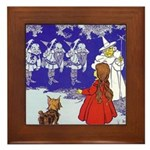 Good Witch of the North Framed Tile