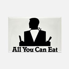 All You Can Eat Rectangle Magnet (10 pack)