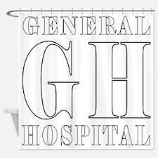 General Hospital Shower Curtain