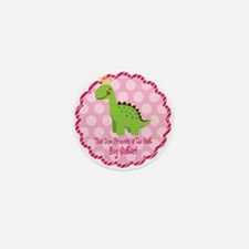 Dino Princess Big Sister Mini Button