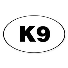 K9 Decal Decal