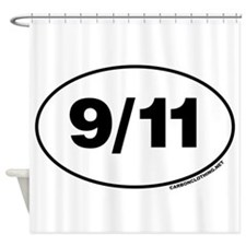 9 / 11 Remember Shower Curtain